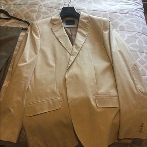 Penguin blazer with banana republic slacks